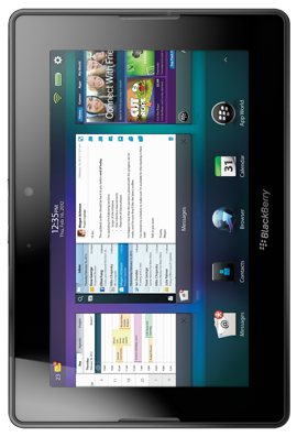 Picture of PlayBook device