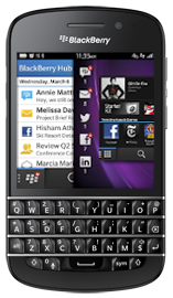 Picture of Q10 device